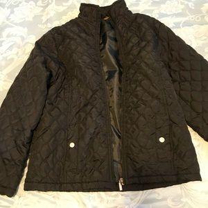 Jackets & Blazers - EUC thin puffer jacket. Black. Tags cut out.